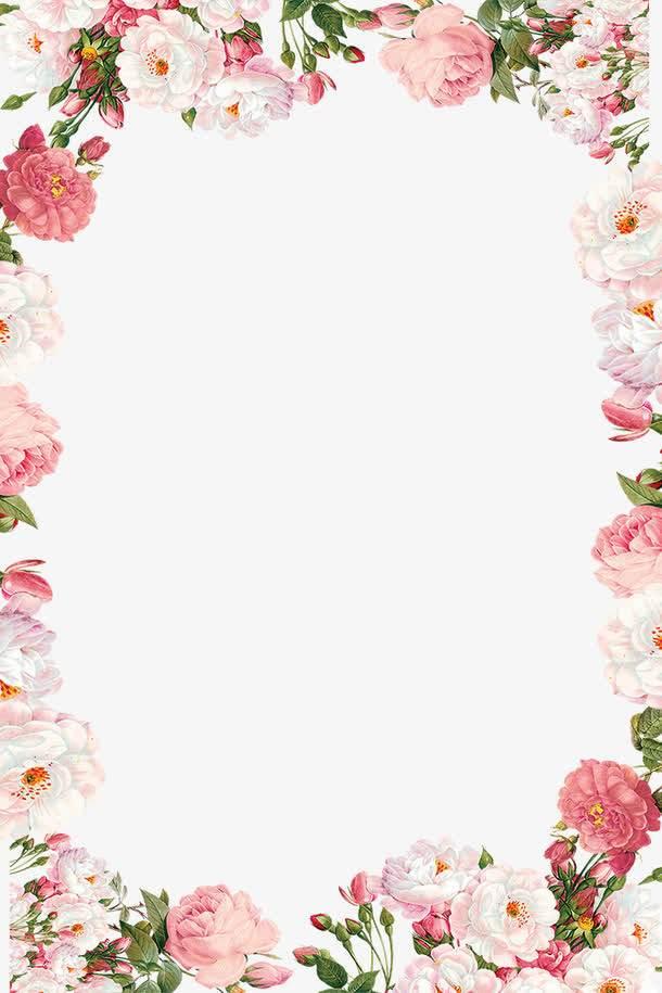 38妇女节小清新鲜花边框.jpg